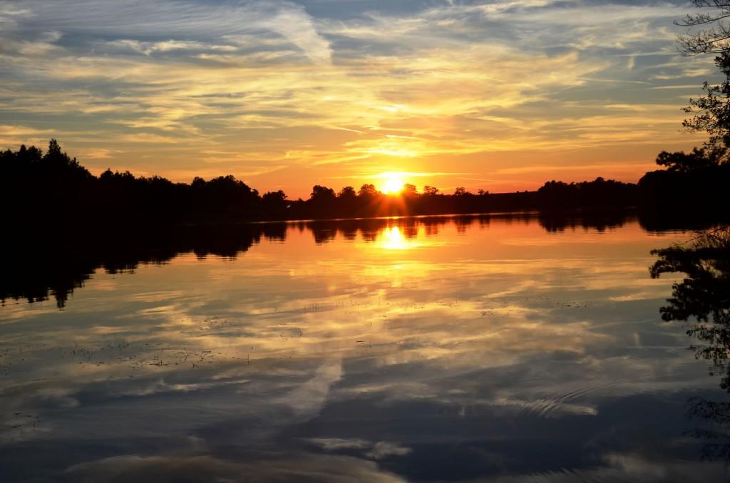 Abtsee Sonnenuntergang 1
