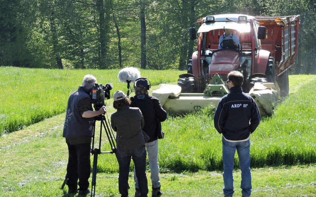 Bio-Heu-Region im Bayrischen Rundfunk