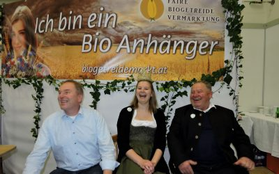 Königin bei der Bio Messe in Wieselburg