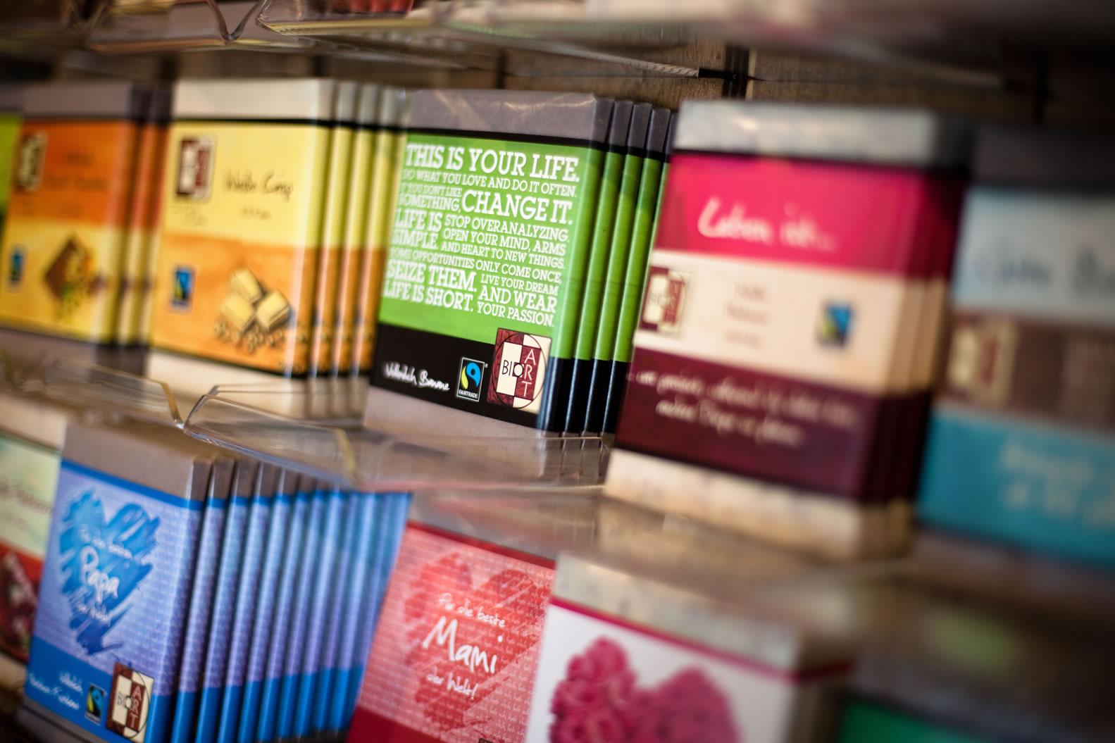 Bio-Heumilch-Schokolade