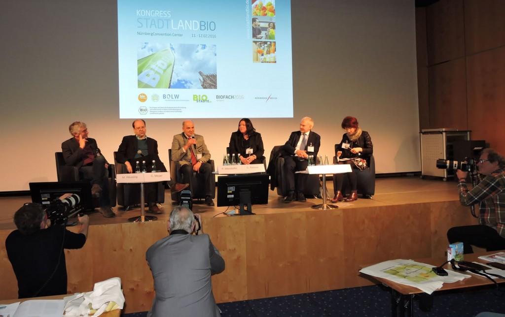 Biodorf Seeham, Bio-Heu-Region, Biofachmesse in Nürnberg 2016, Ökomodellregionen, Cita del Bio (31)