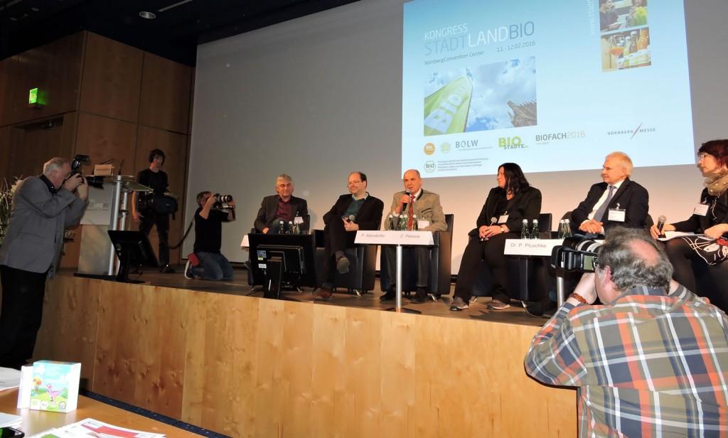 Biodorf Seeham, Bio-Heu-Region, Biofachmesse in Nürnberg 2016, Ökomodellregionen, Cita del Bio (32)