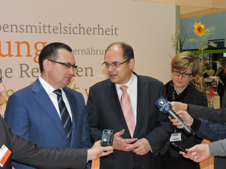 Biodorf Seeham, Bio-Heu-Region, Biofachmesse in Nürnberg 2016, Ökomodellregionen, Cita del Bio (60)