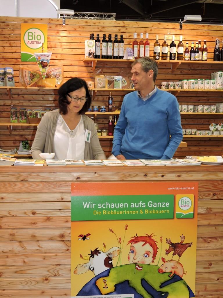 Biodorf Seeham, Bio-Heu-Region, Biofachmesse in Nürnberg 2016, Ökomodellregionen, Cita del Bio (7)