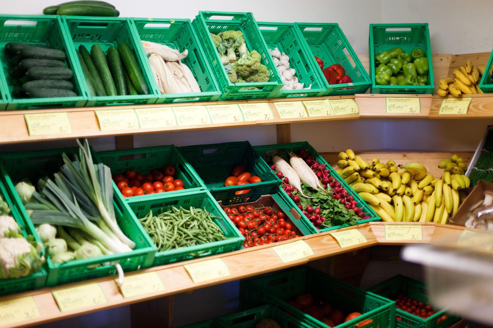 Bioladen Seeham Bioprodukte Gemüse