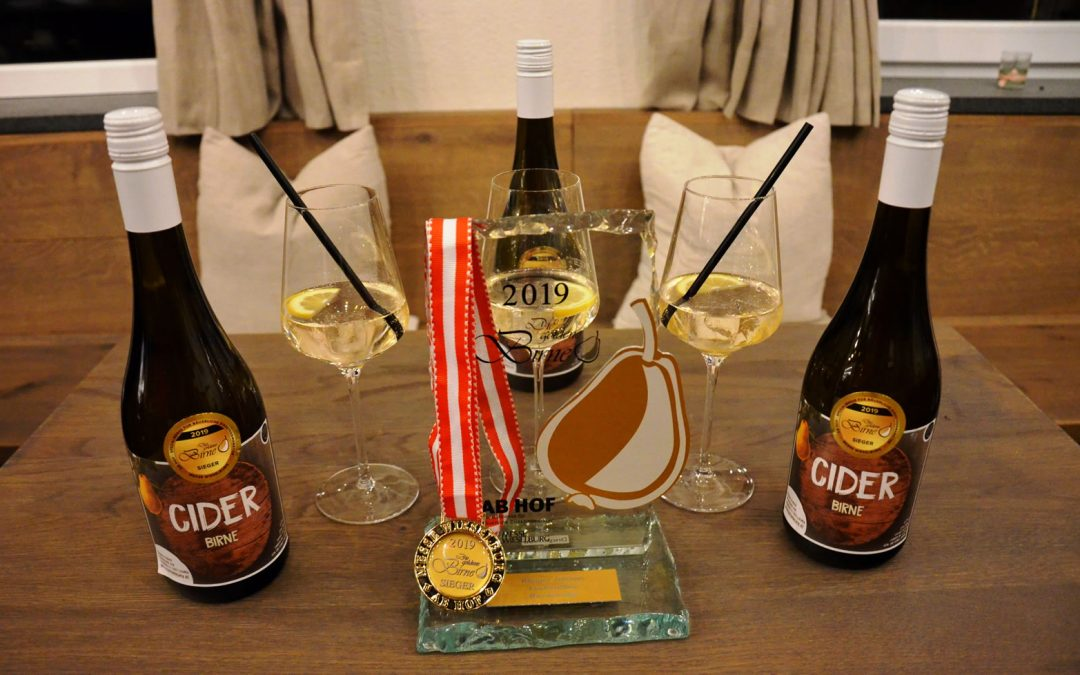 Der beste Birnen Cider Österreichs