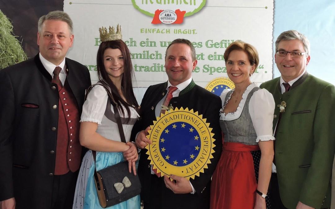 Höchste Auszeichnung für Heumilch in Europa