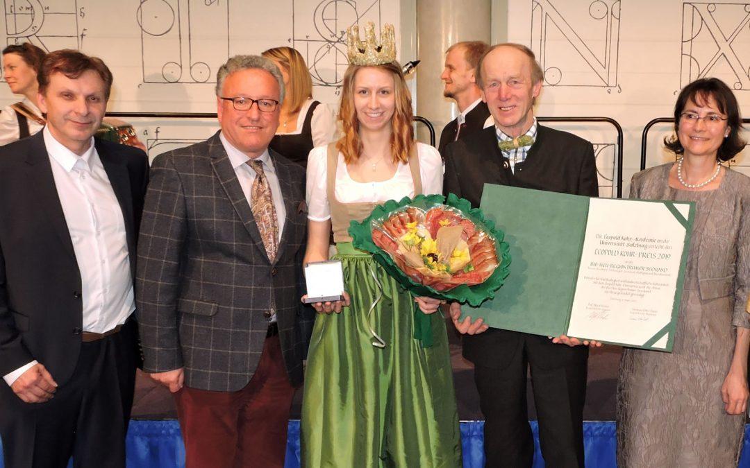 Leopold Kohr Preis 2019