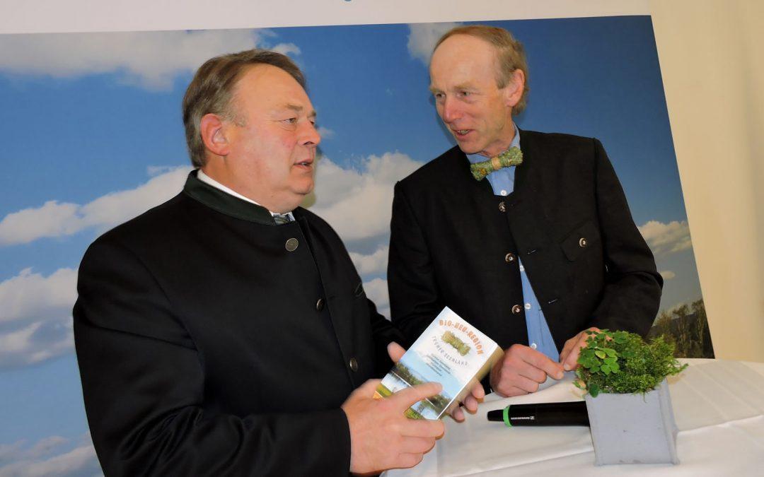 Die Bio-Heu-Region eingeladen im Bayrischen Staatsministerium