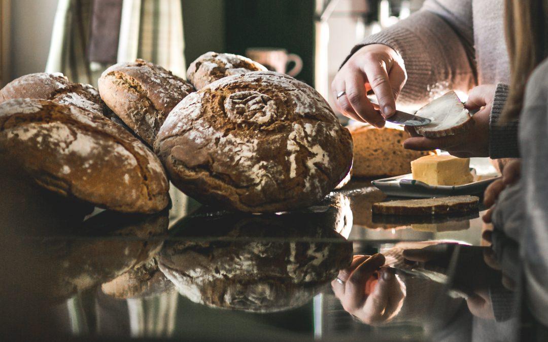 Sabine gibt ihr täglich Brot