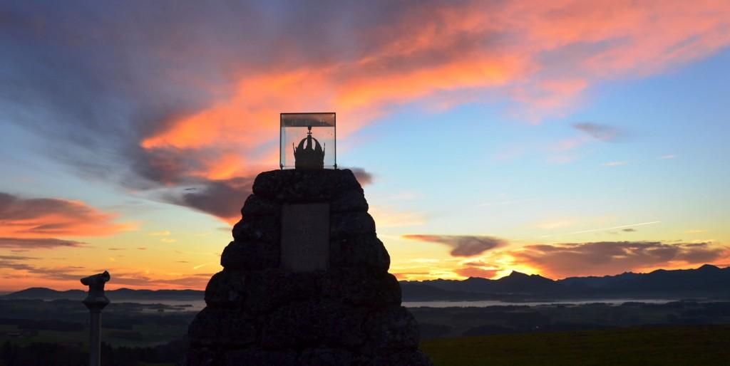 Sonnenaufgang Kaiserbuche 7