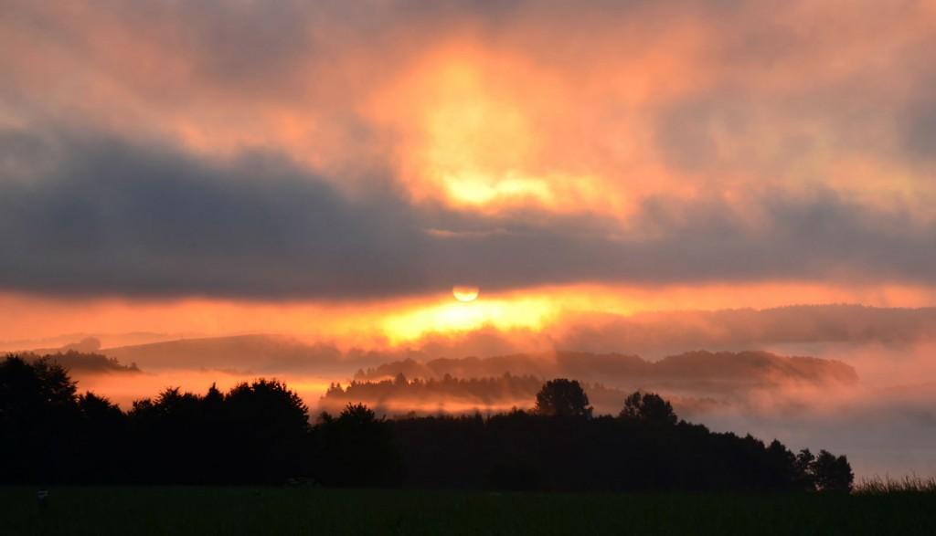 Sonnenaufgang Nebel 10