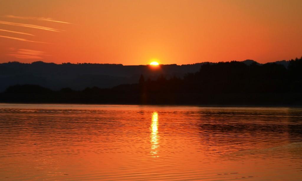 Sonnenaufgang Wallersee 15