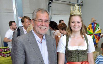 Der Präsident und die Königin
