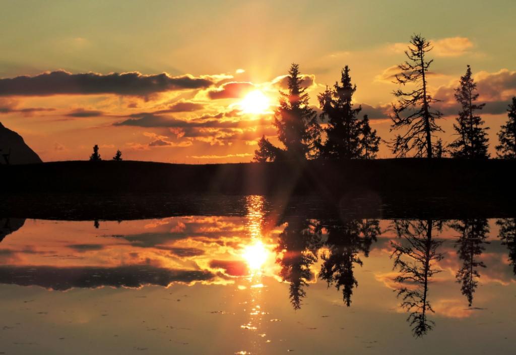 Sonnenuntergang am Fulsegg