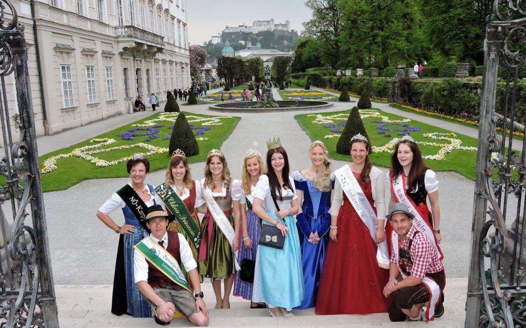 Erstmals 12 Königliche Hoheiten in Salzburg