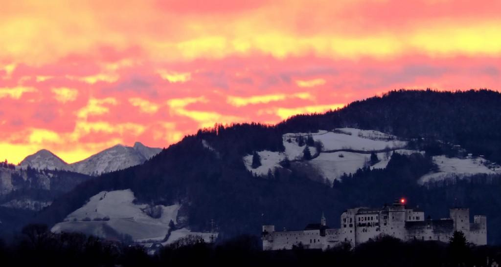 Stimmung über der Stadt Salzburg 3