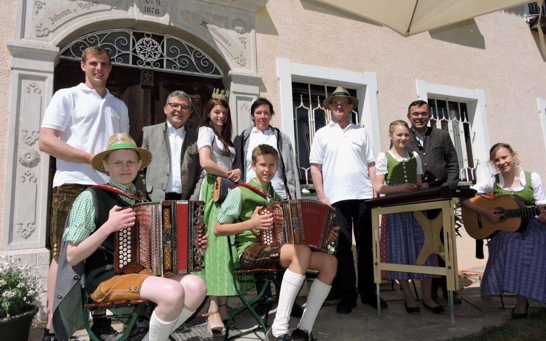 Tag der offenen Stalltür bei der Mattigtaler Hofkäserei