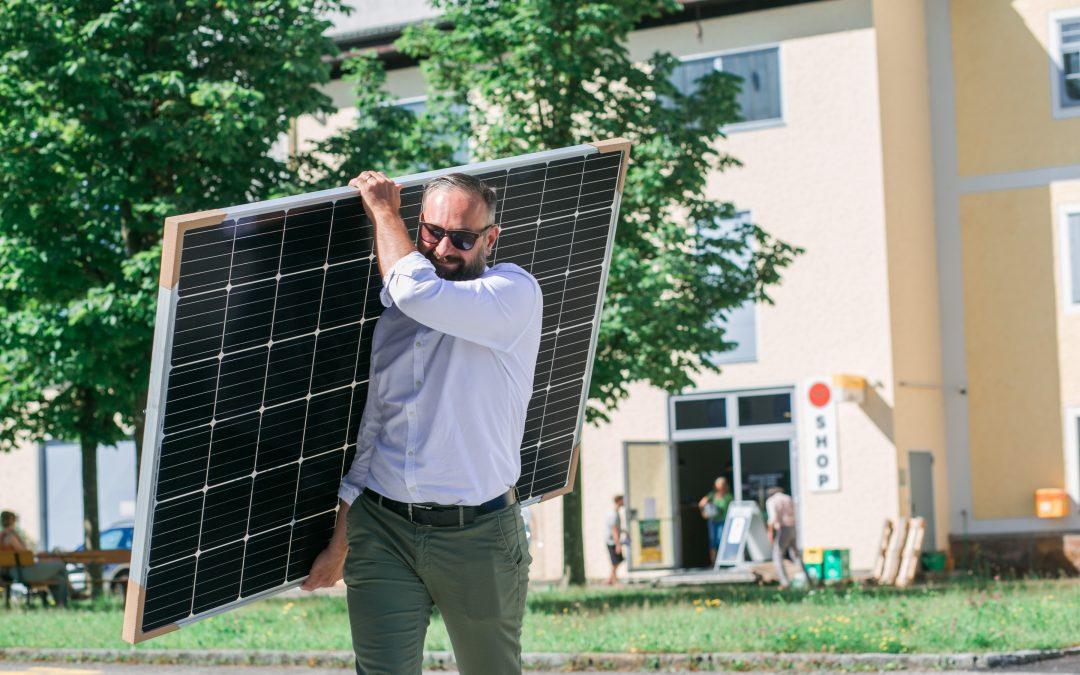 Wolfgang und die Sonnenkraft