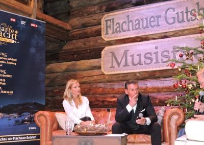 Gerd Schneider vom ORF mit dem Moderatorenteam