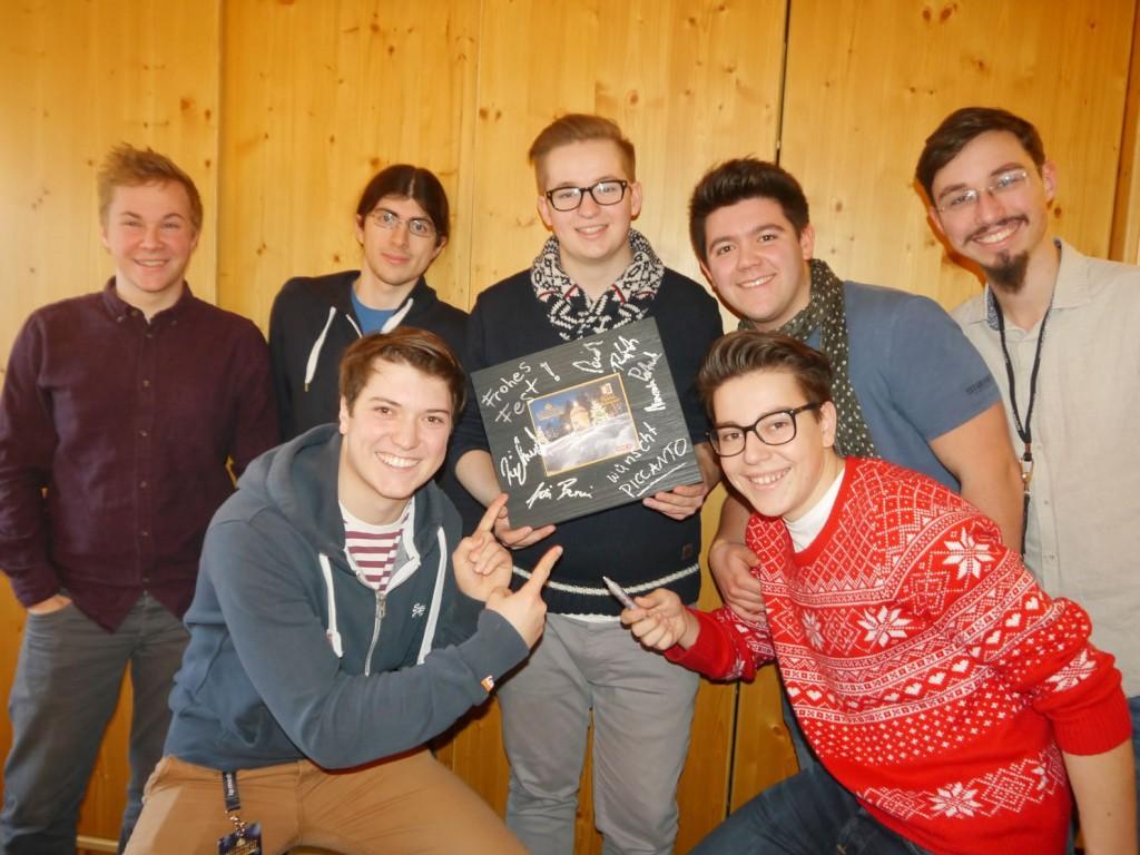Piccanto haben ebenfalls eine große Freude mit der BioArt Geschenkebox, fotografiert von Eva Brutmann ORF